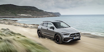 Der neue Mercedes-Benz GLA bei Senger