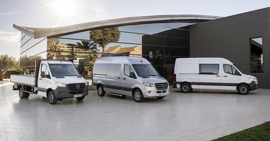 Der neue Mercedes-Benz Sprinter