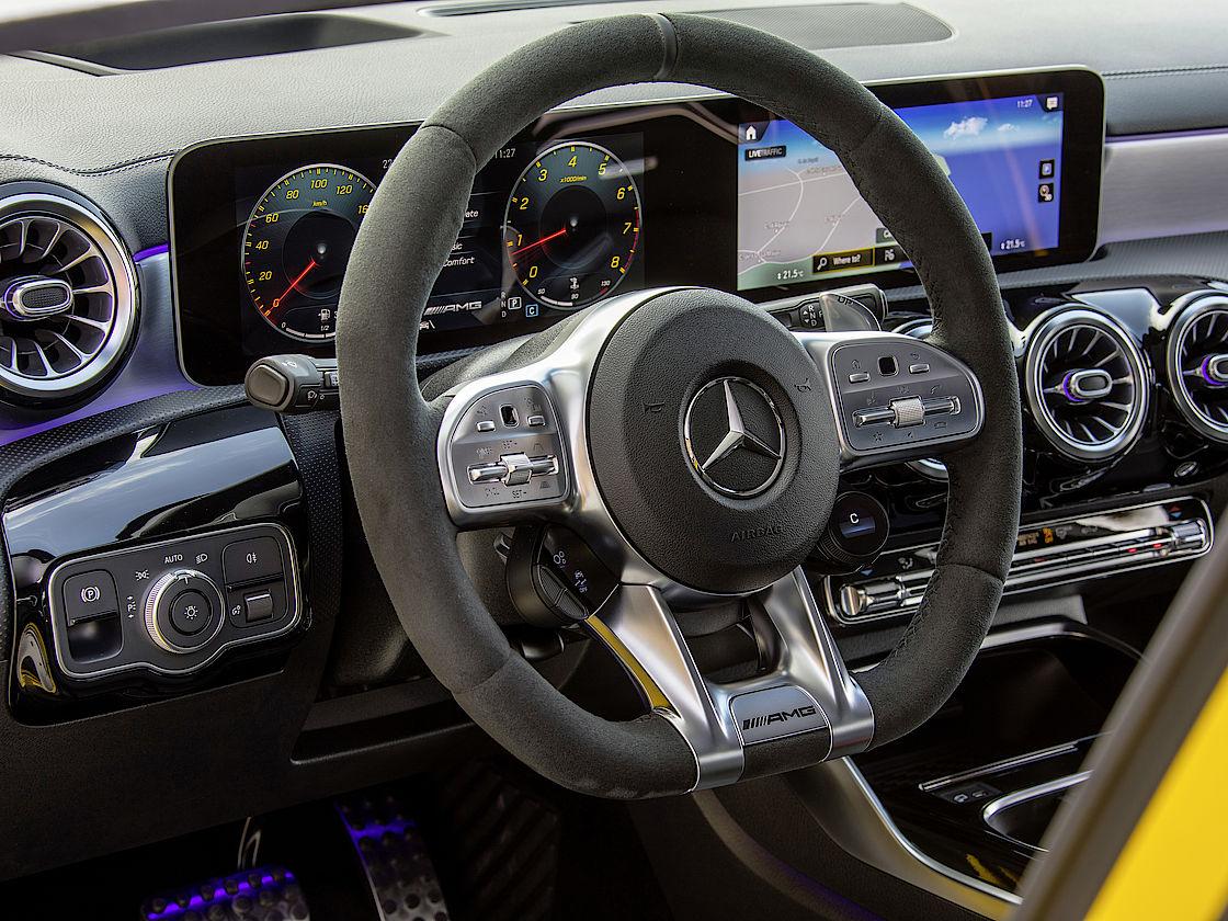 Mercedes A 35 bei Senger leasen