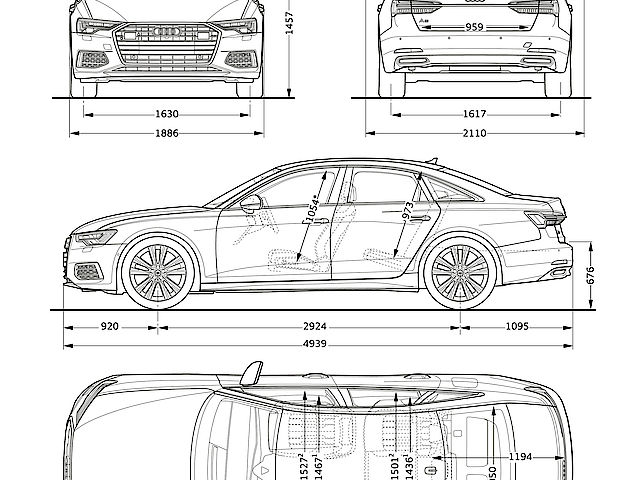Maße Audi A6