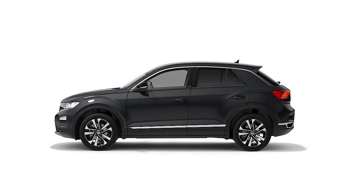 VW T-Roc UNITED Leasingangebot | Abbildung SEite