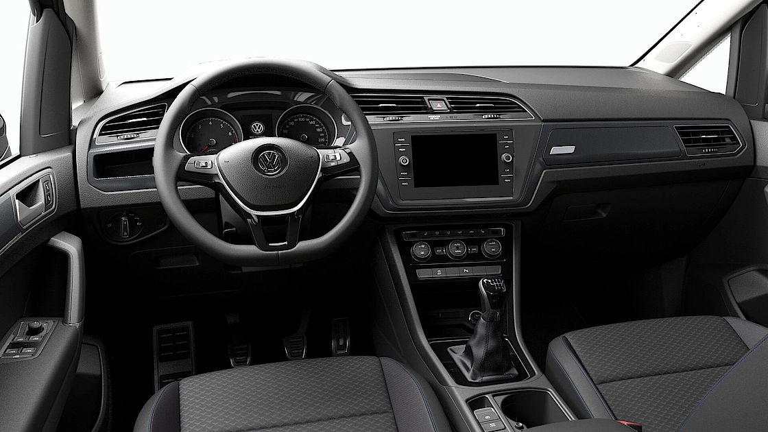 VW Touran UNITED Leasingangebot | Abbildung Cockpit