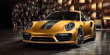 Die neue Kleinserie von Porsche: 911 Turbo S Exclusive Series