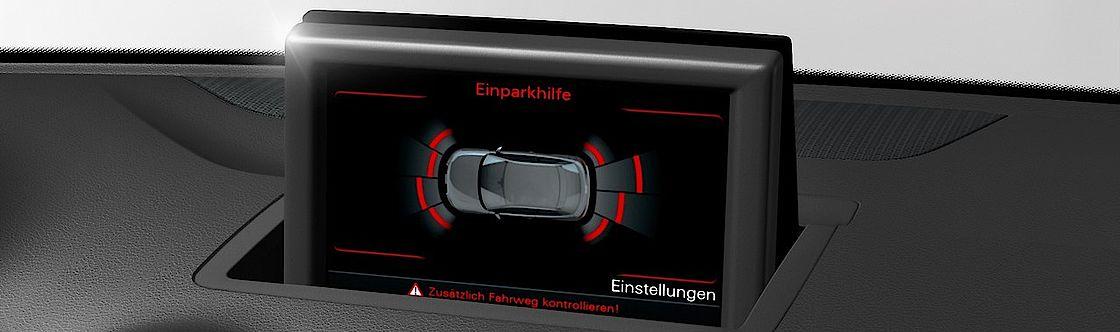 Audi A1 Einparkhilfe