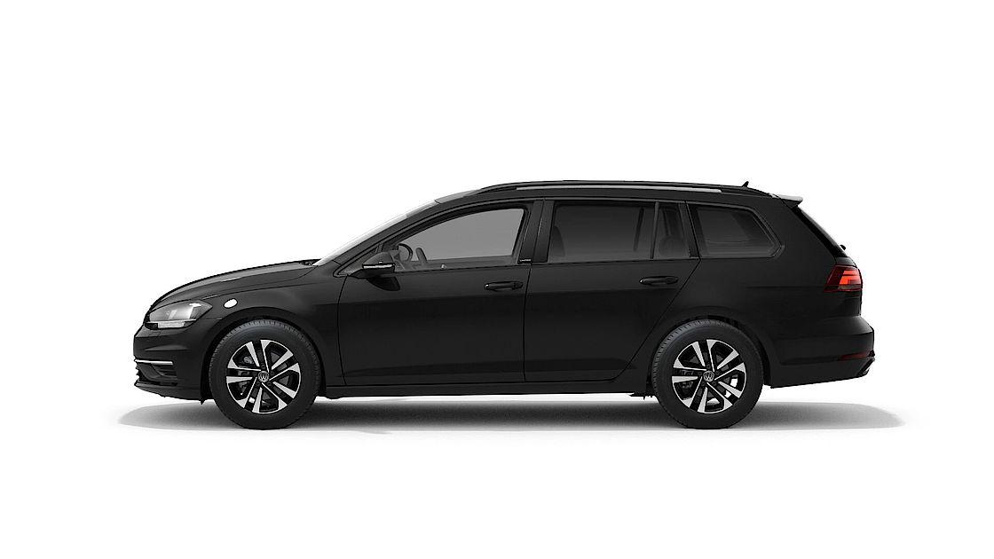 VW Golf Variant UNITED Leasingangebot | Seitenansicht