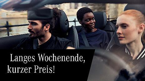 Mercedes-Benz Cabriolet mieten Angebot
