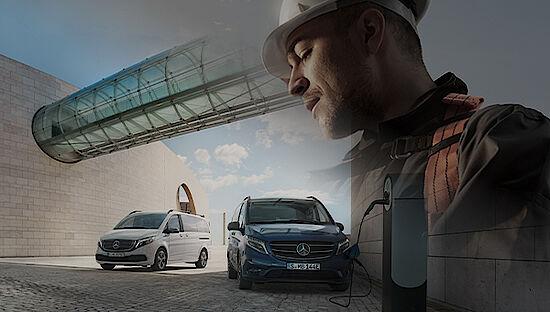 Mercedes-Benz eVito Tourer - Elektro Transporter