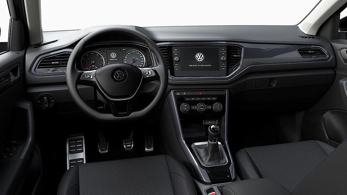 VW T-Roc UNITED Leasingangebot | Abbildung Cockpit