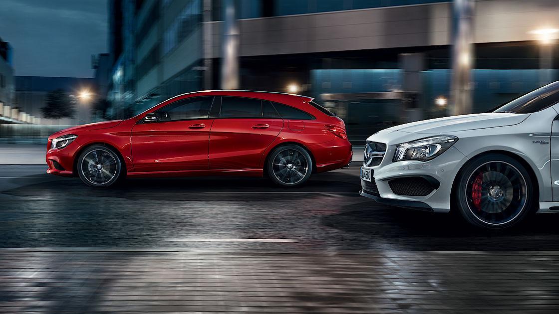 Mercedes-Benz CLA Modelle