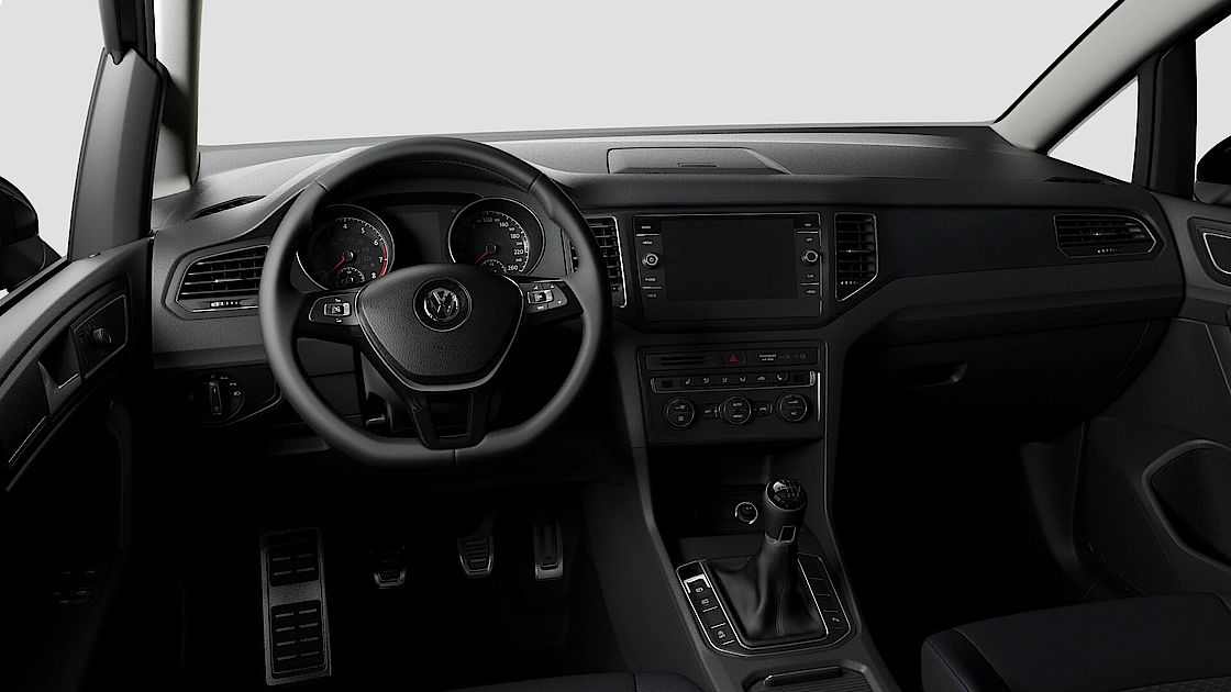VW Sharan UNITED Leasingangebot | Abbildung Cockpit