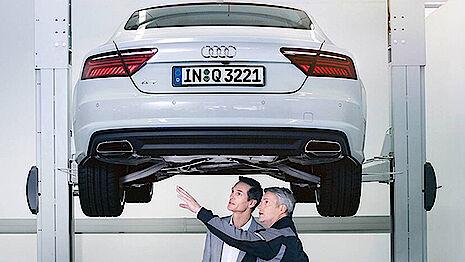Service Checks für Audi