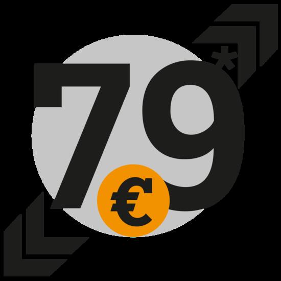 79 Euro - smart bei Senger