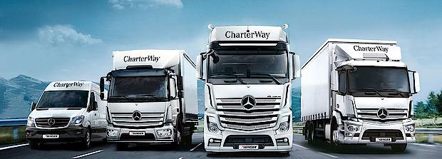 Lkw mieten bei Senger mit Mercedes-Benz