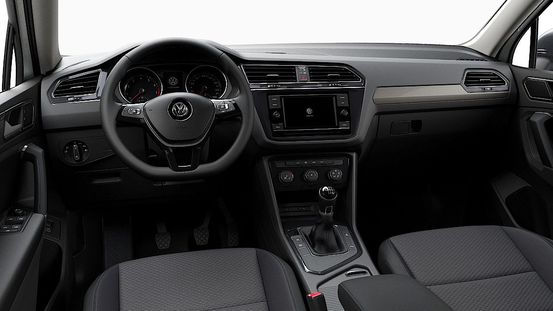 VW Tiguan Sllspace günstig leasen | Cockpit