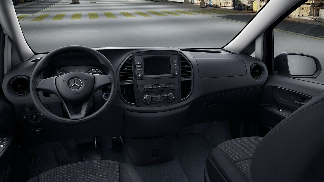 Mercedes-Benz eVito Interieur