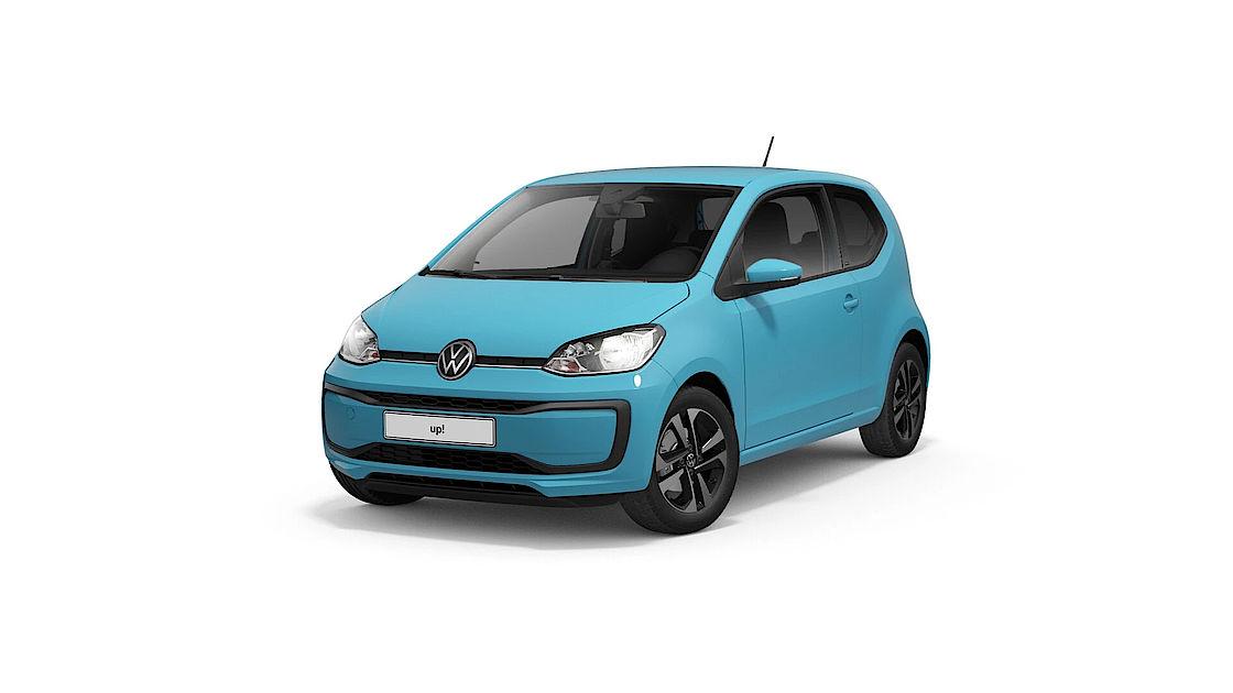 VW up! UNITED Leasingangebot | Abbildung seitlich