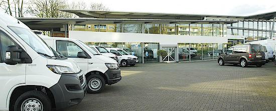 Rheine Volkswagen NFZ bei Senger