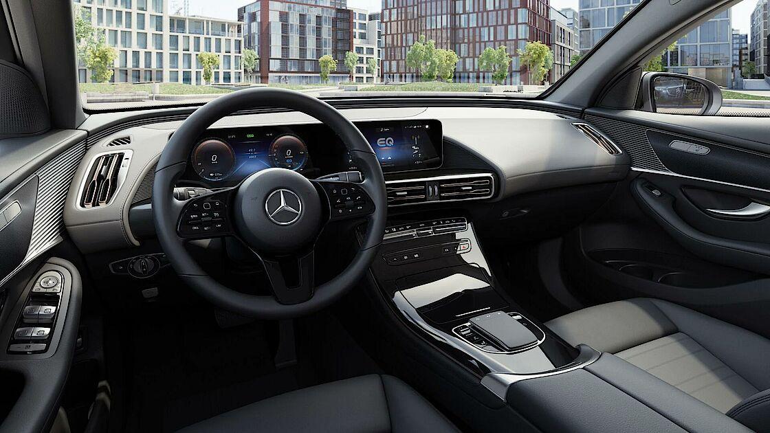 Mercedes-Benz EQC im Angebot für Gewerbekunden