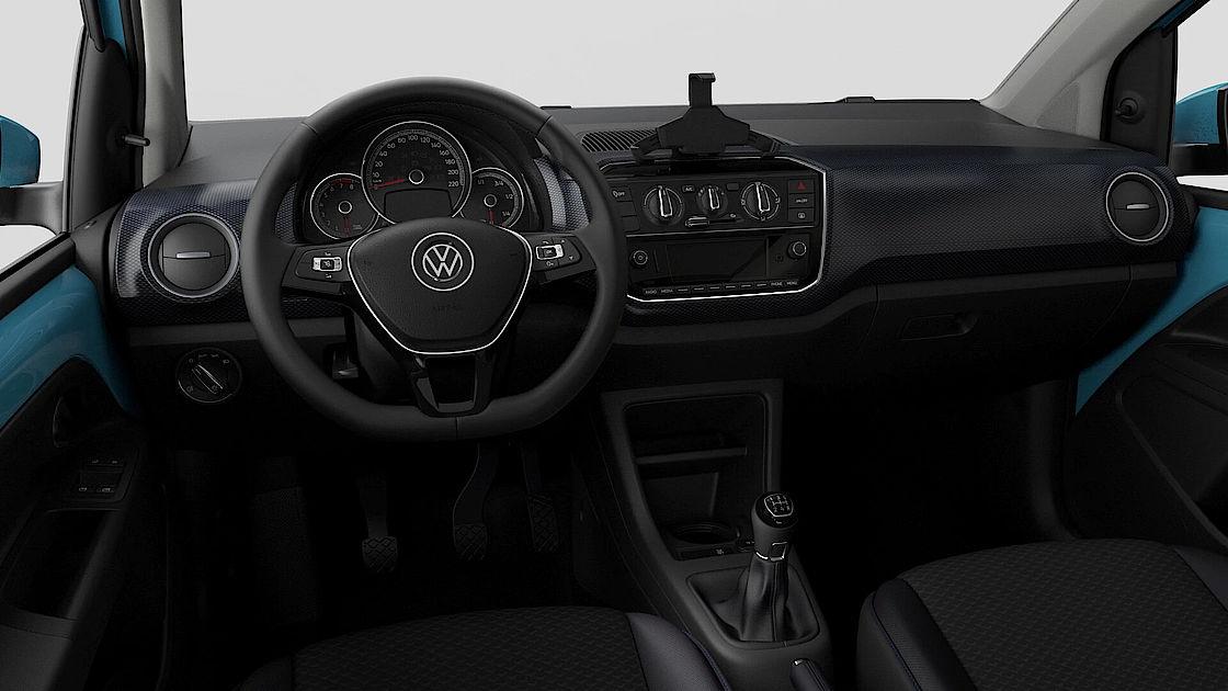 VW up! UNITED Leasingangebot | Abbildung Cockpit