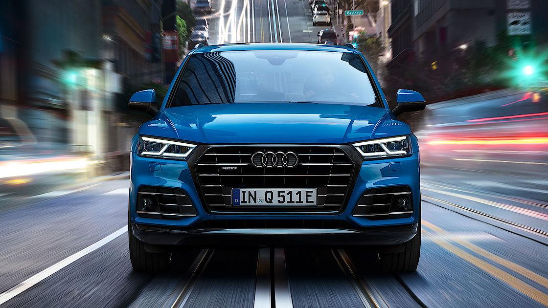 Premium SUV jetzt als Audi Q5 55 TFSI e quattro Plug-in-Hybrid