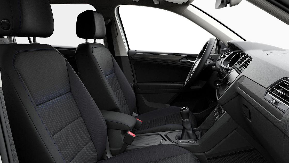 VW Tiguan Allspace UNITED Leasingangebot | Abbildung Sitze