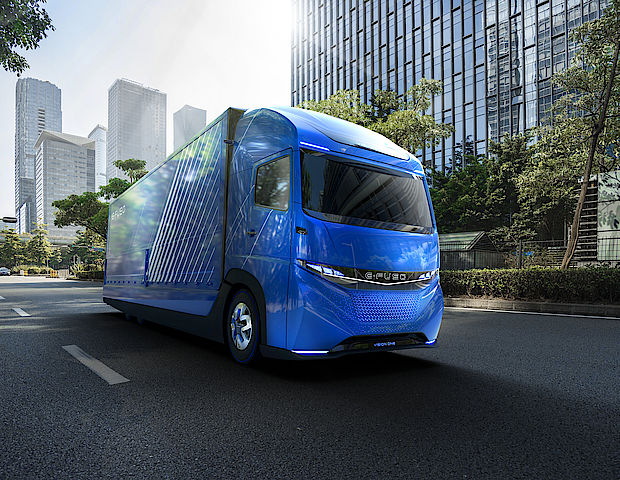 E-FUSO Vision One mit Elektromotor
