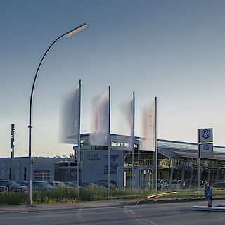 das Audi Zentrum Lingen eröffnet nach Umbau
