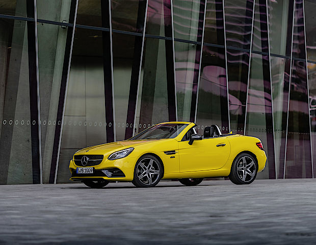 Mercedes-Benz SLC Final Edition bei Senger
