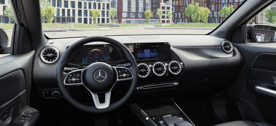 Mercedes-Benz EQA Interieur