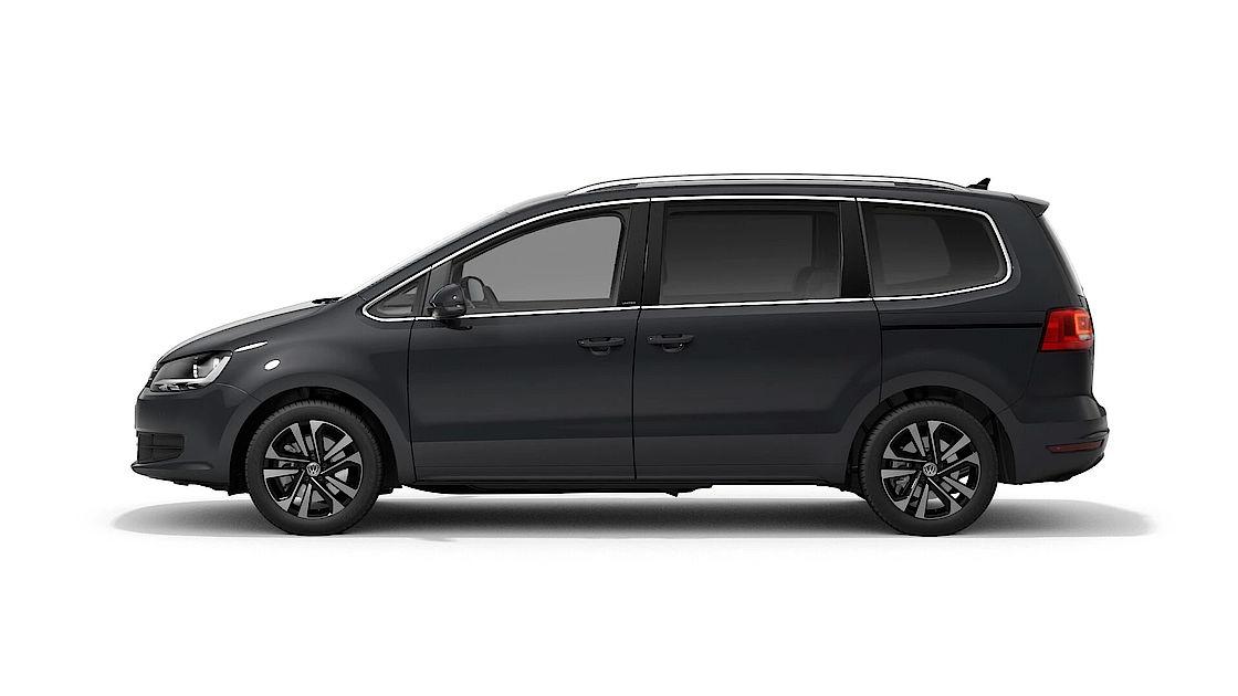 VW Sharan UNITED Leasingangebot | Abbildung Profil