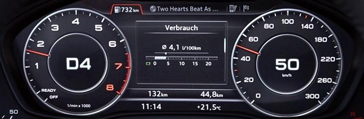 Infotainment des Audi A4