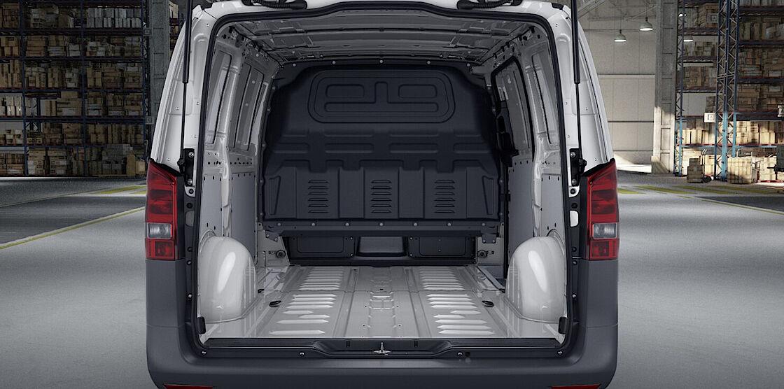 Mercedes-Benz eVito Kastenwagen Abo - Ladefläche