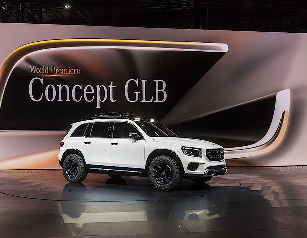 SUV GLB von Mercedes-Benz