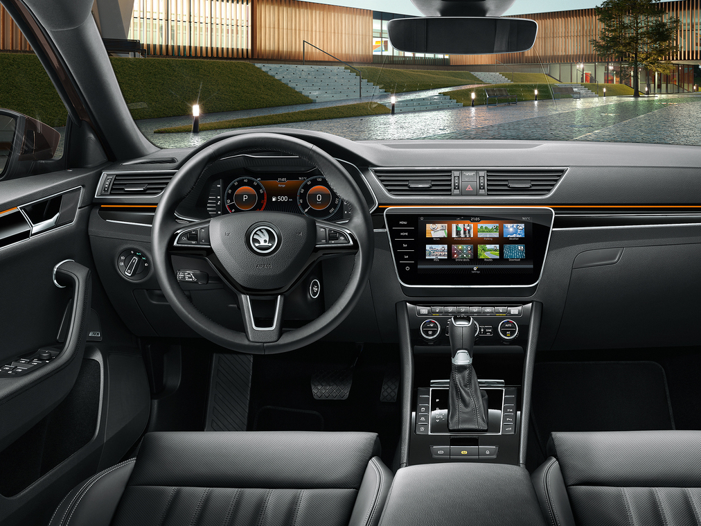 SKODA SUPERB iV Cockpit