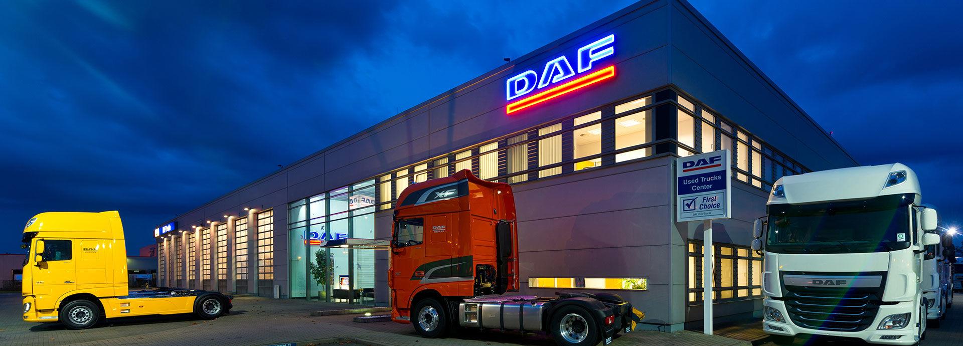 Ihr DAF LKW Center in Berlin| Auto Senger