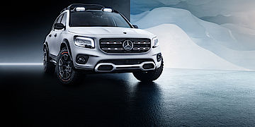 Mercedes-Benz GLB Concept Car