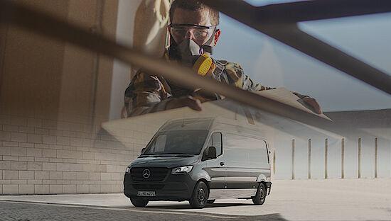 Mercedes-Benz eSprinter - Elektro Transporter