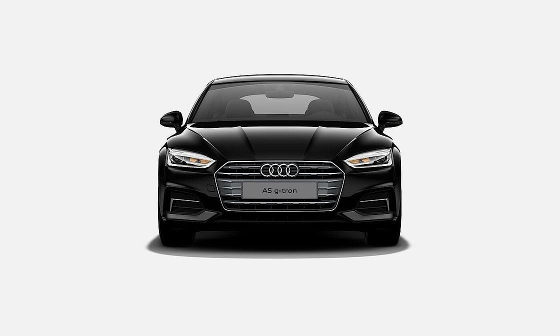 Frontansicht des Audi A5 Sportbackg-tron