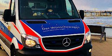 Senger spendet an den Wünschewagen