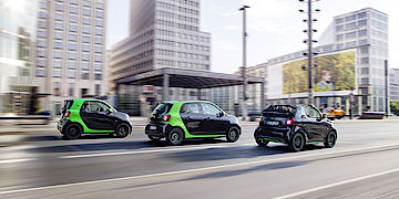 e-smart - smart fortwo eDrive - smart forfour eDrive