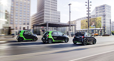 e-smart - smart fortwo eDrive - smart forfour eDrive