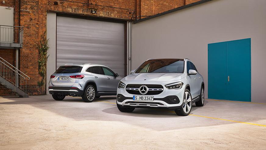 Mercedes-Benz-GLA-Senger-Range