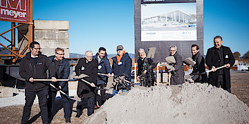 Spatenstich der Neubauprojekte von Semger in Oberursel und Rosbach