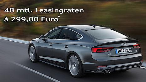 Der Audi A5 Sportback für 299 Euro