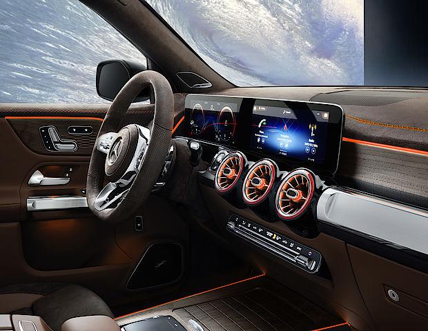 Interieur des Mercedes-Benz GLB Concept Cars