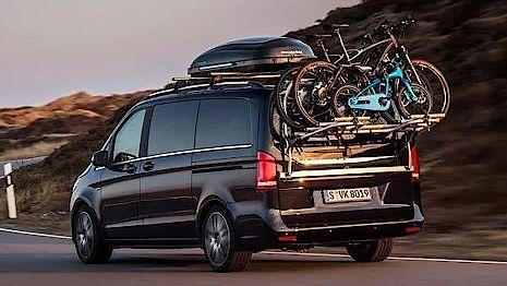 Fahrradträger für die Mercedes-Benz V-Klasse