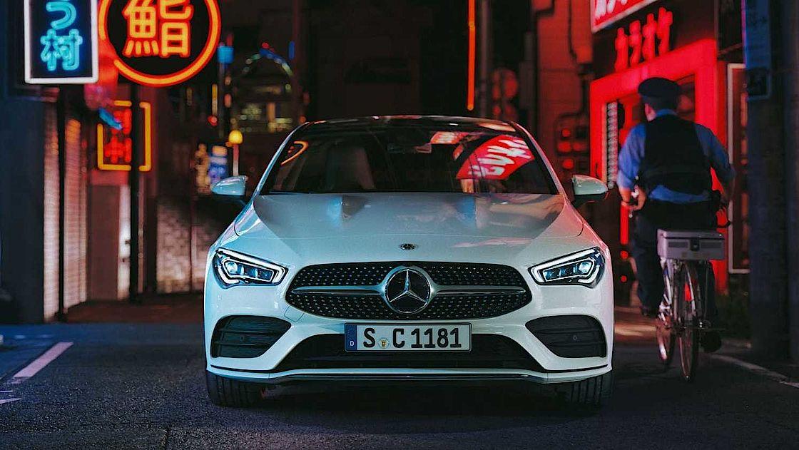 Mercedes-Benz CLA Coupé bei Senger