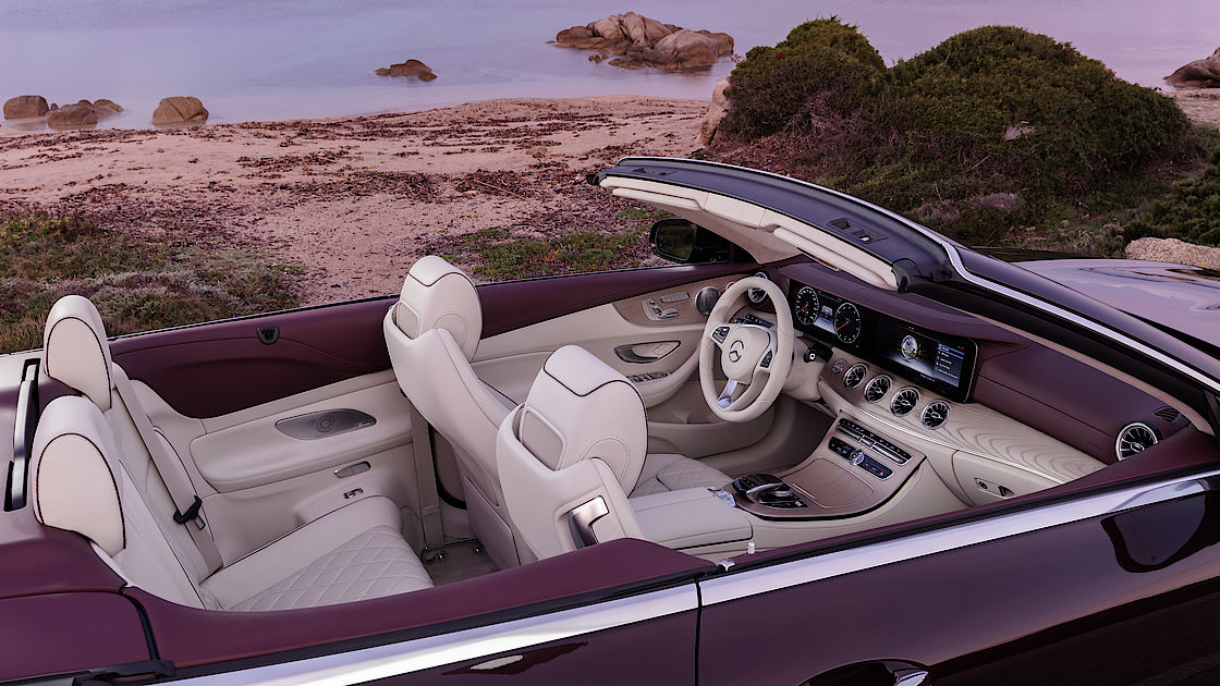 25 Jahre E-Klasse Cabriolet