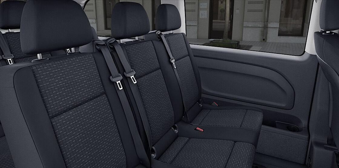 Mercedes-Benz eVito Tourer im Abo - Sitzplätze