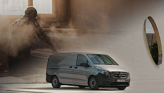 Mercedes-Benz eVito Kastenwagen - Elektro Transporter